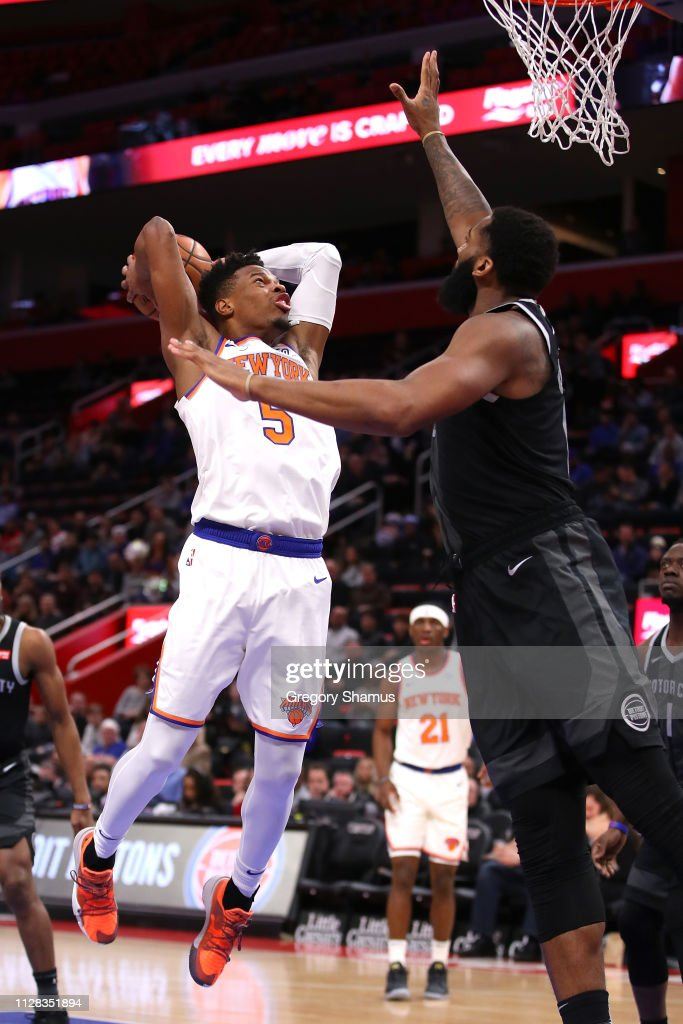 New York Knicks v Detroit Pistons : News Photo