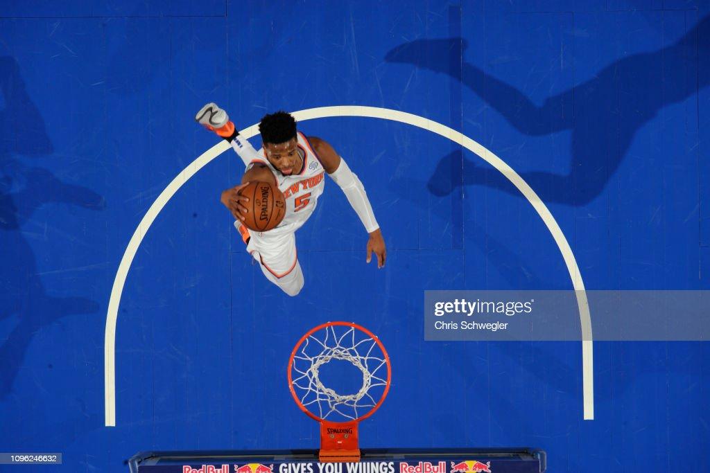 New York Knicks v Detroit Pistons : News Photo