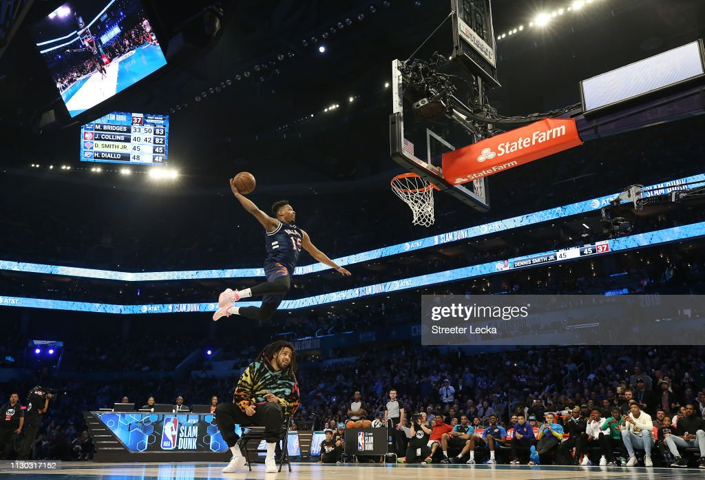 2019 AT&T Slam Dunk : News Photo