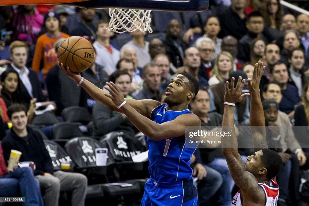 Washington Wizards vs. Dallas Mavericks: NBA : News Photo