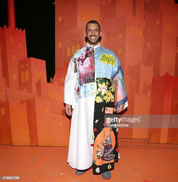 Dennis Stowe attends the Broadway Opening Night Performance AEA Gypsy Robe Ceremony honoring Dennis Stowe for 'Aladdin' at the New Amsterdam Theatre...