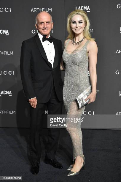 Dennis Tito and Elizabeth TenHouten attend LACMA Art Film Gala 2018 at Los Angeles County Museum of Art on November 3 2018 in Los Angeles CA