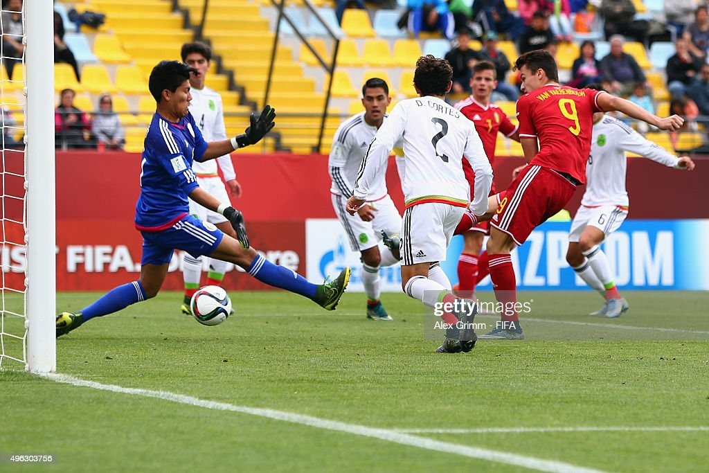 Belgium v Mexico: Third Place Play-Off - FIFA U-17 World Cup Chile 2015 : News Photo