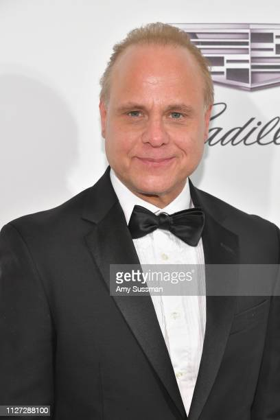 Dennis W Hall attends the 27th annual Elton John AIDS Foundation Academy Awards Viewing Party celebrating EJAF and the 91st Academy Awards on...