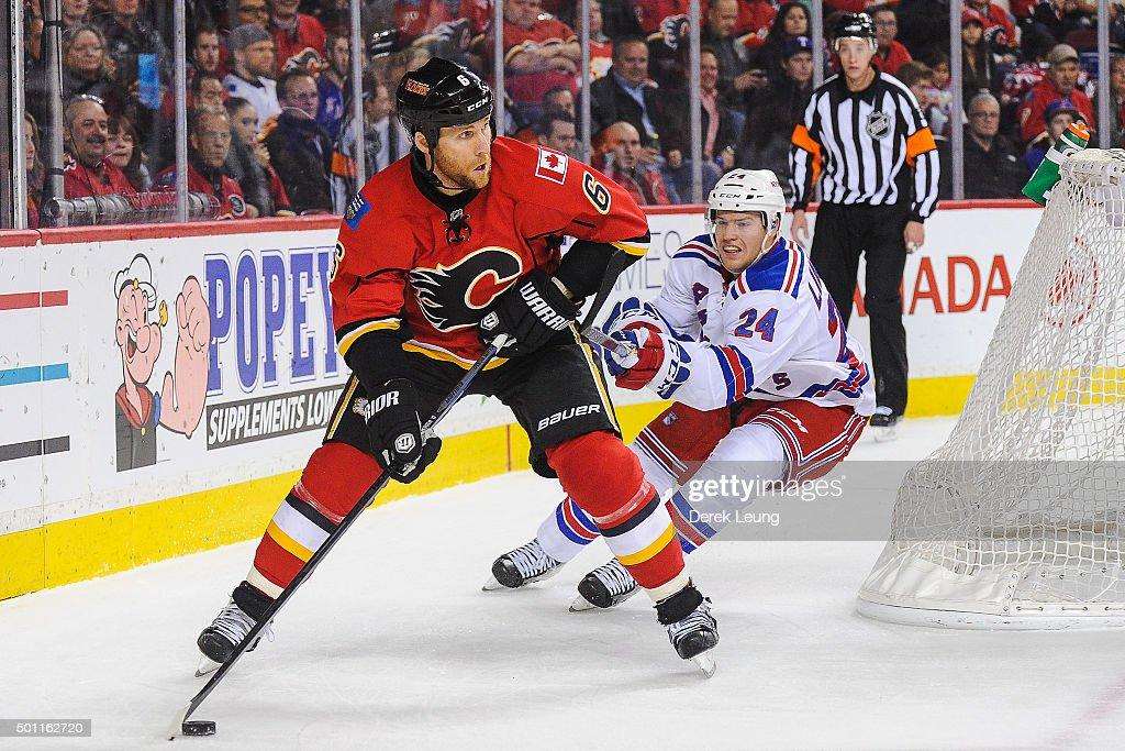 New York Rangers v Calgary Flames : News Photo