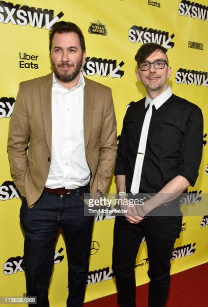 Dennis Widmyer and Kevin Kolsch attend the premiere of 'Pet Sematary' during the 2019 SXSW Conference and Festival at the Paramount Theatre on March...