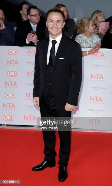 Dennis Wise attends the National Television Awards 2018 at the O2 Arena on January 23 2018 in London England