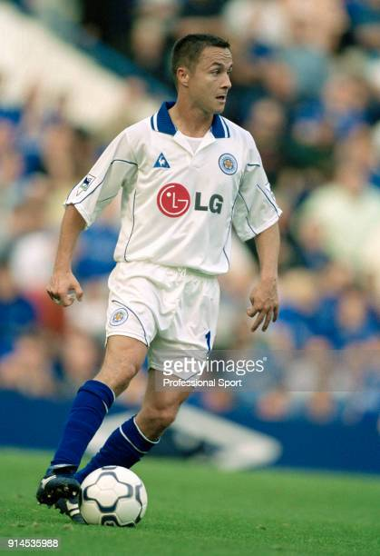 Dennis Wise of Leicester City in action during the FA Barclaycard Premiership match between Chelsea and Leicester CIty at Stamford Bridge on October...