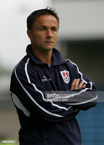 Dennis Wise of Millwall looks on during the Nationwide Division One match between Millwall and Watford at The New Den on April 20 2004 in London