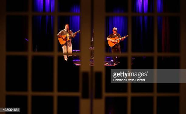 Denny Breau and Paul Mellyn perform at the Boothbay Opera House in Boothbay Harbor Saturday, May 11, 2013.