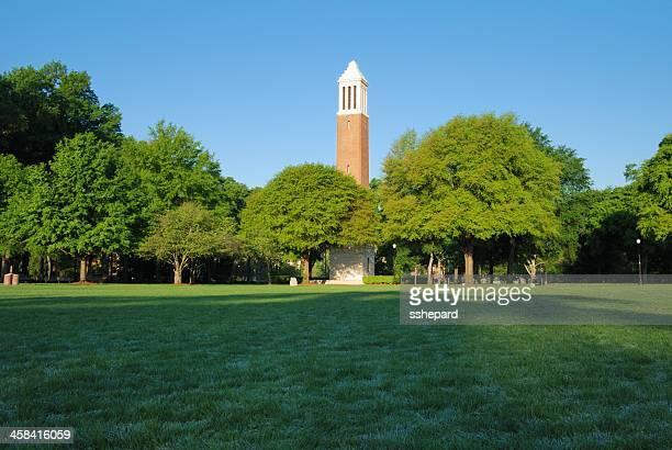 denny チャイム、アラバマ大学クワッド - タスカルーサ ストックフォトと画像