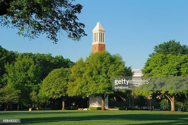 denny chimes on ua campus - tuscaloosa stock pictures, royalty-free photos & images