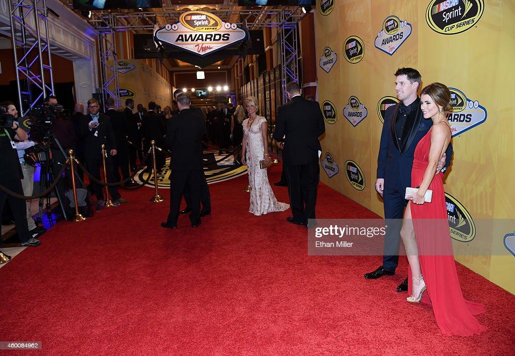 2014 NASCAR Sprint Cup Series Awards - Red Carpet : News Photo