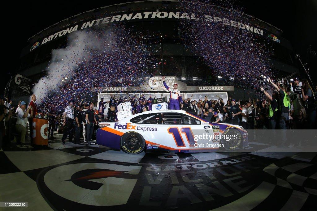 Monster Energy NASCAR Cup Series 61st Annual Daytona 500 : News Photo
