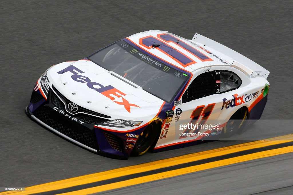Monster Energy NASCAR Cup Series 61st Annual Daytona 500 - Practice : News Photo