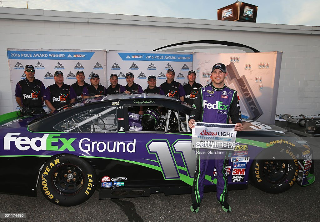 NASCAR Sprint Cup Series Federated Auto Parts 400 - Qualifying : News Photo