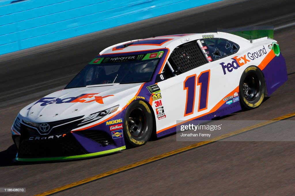 Monster Energy NASCAR Cup Series Bluegreen Vacations 500 - Practice : News Photo