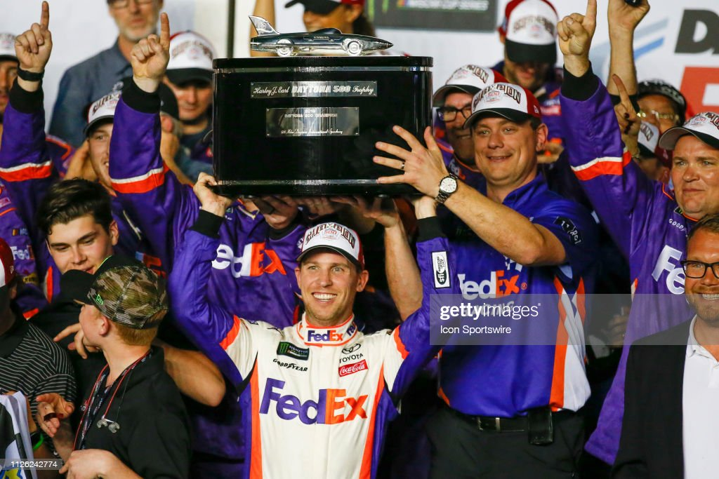 AUTO: FEB 17 Monster Energy NASCAR Cup Series - DAYTONA 500 : News Photo