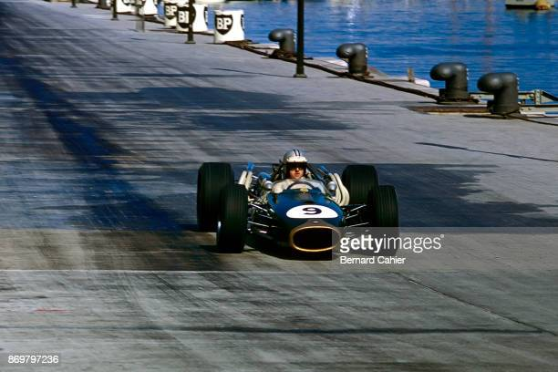 Denny Hulme BrabhamRepco BT20 Grand Prix of Monaco Circuit de Monaco 07 May 1967