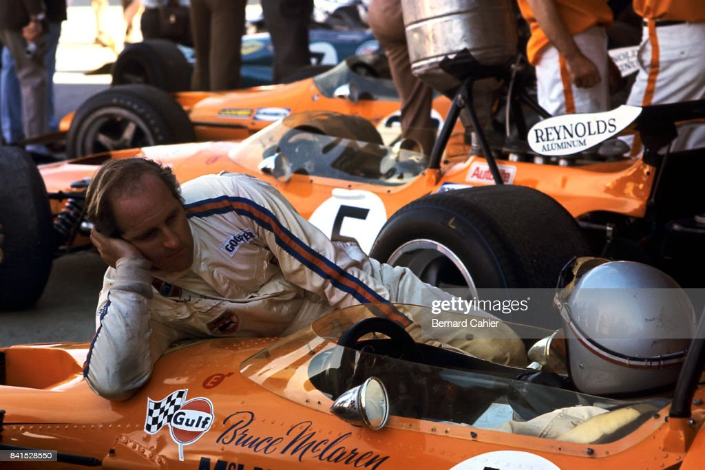 Denny Hulme, Bruce McLaren, Grand Prix Of Spain : News Photo