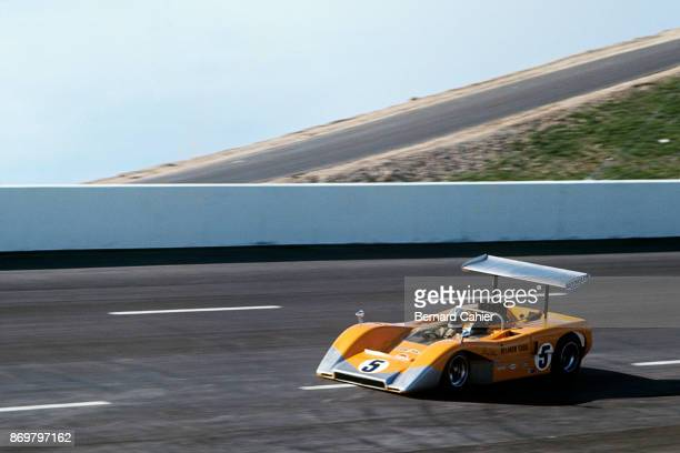 Denny Hulme, McLaren-Chevrolet M8B, Texas International Can-Am, Texas World Speedway, College Station, Texas, 11 September 1969.