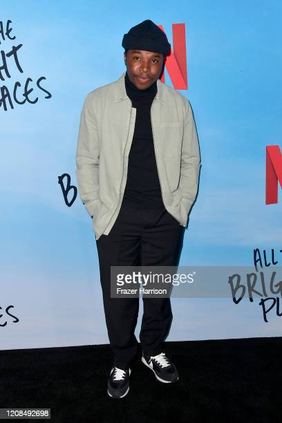Denny Love attends the Special Screening of Netflix's All The Bright Places at ArcLight Hollywood on February 24 2020 in Hollywood California