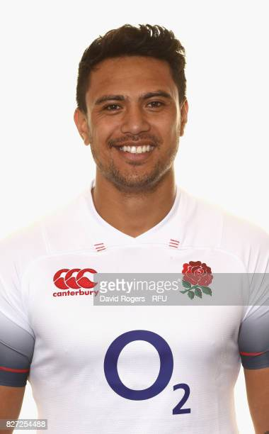 Denny Solomona of England poses for a portrait at The Lensbury on August 5 2017 in Teddington England