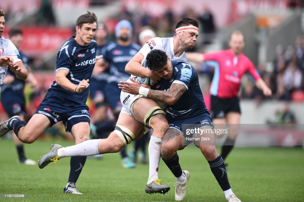 Sale Sharks v Gloucester Rugby - Gallagher Premiership Rugby : News Photo