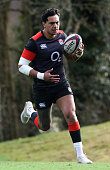 bagshot england denny solomona runs with