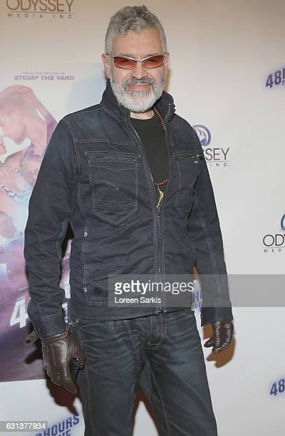 Dennys Illic Cpg attends the premiere of Gravitas Pictures' '48 Hours To Live' at TCL Chinese 6 Theatres on January 9 2017 in Hollywood California