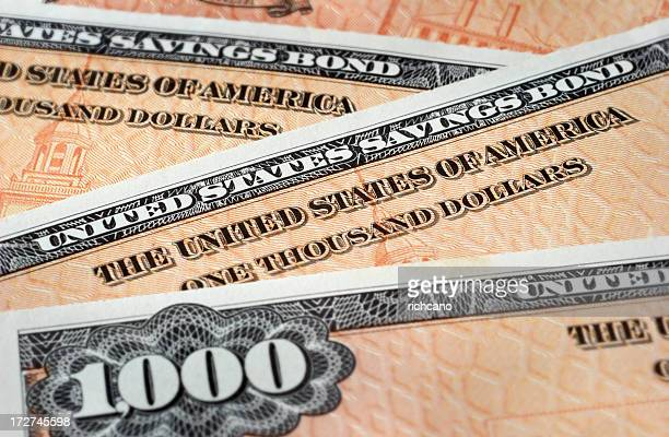 $1000 denomination US Savings Bonds