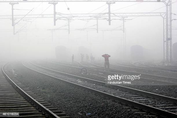 Dense fog affected normal life on January 4 2015 in Indore India Dense fog also affected train operations as Northern railway on Tuesday cancelled 13...