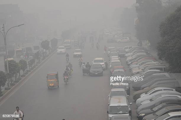 A dense layer of smog has been layered upon Lahore city and adjoining areas Pakistani residents and commuters are more worried than surprised due to...