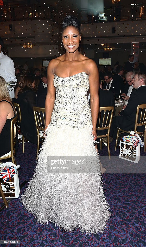 Densie Lewis attends the British Olympic Ball at the Grosvenor House Hotel on November 30, 2012 in London, England.