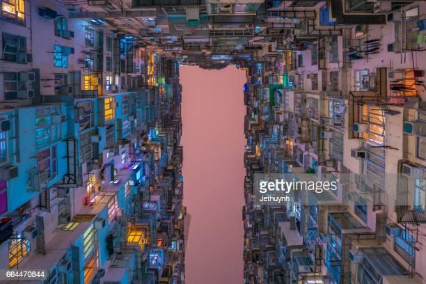 Density of public Housing in Hong Kong