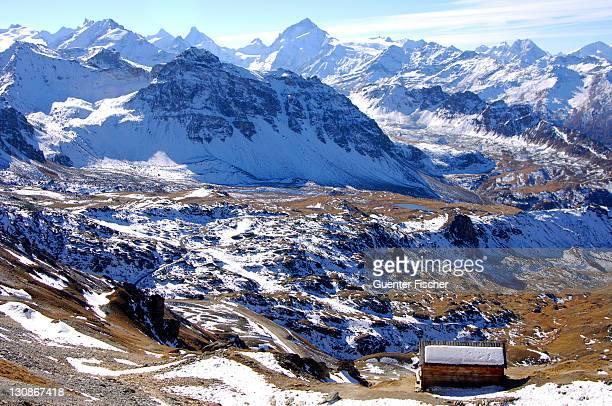 Dent Blanche in the Swiss Alps Valais Switzerland