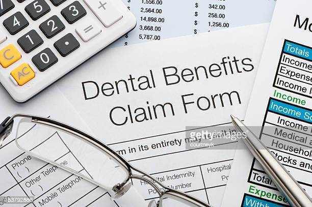 Dental benefits claim form