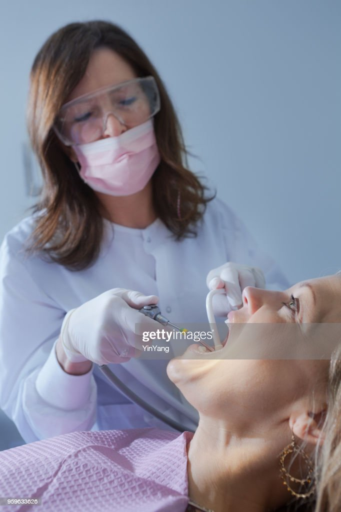Dental-Check-Up : Stock-Foto