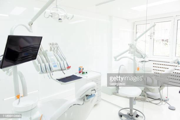 clinique dentaire - cabinet médical photos et images de collection