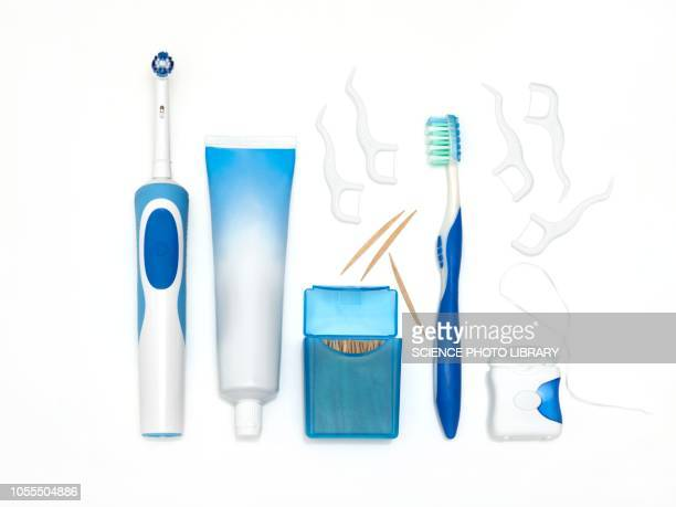 dental equipment - toiletries stock pictures, royalty-free photos & images