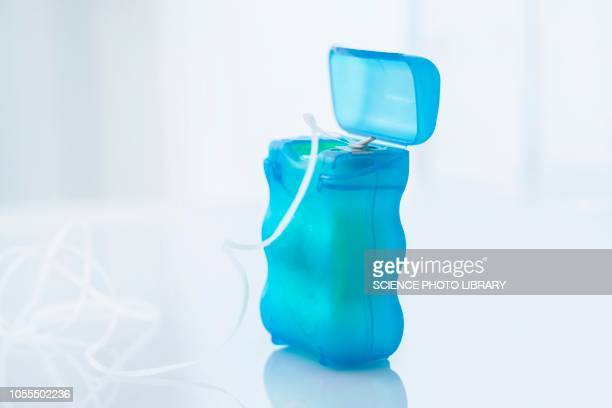 dental floss - dental floss stock pictures, royalty-free photos & images
