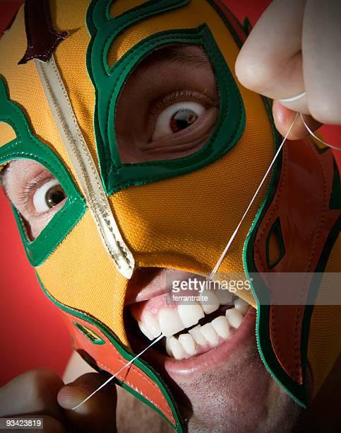 dental hygiene - dentist horror stockfoto's en -beelden