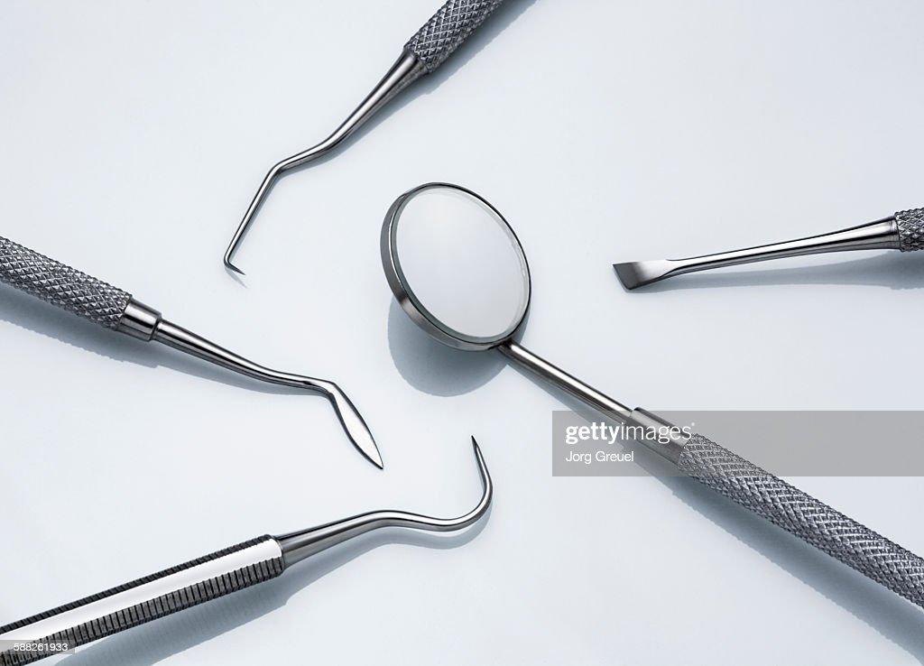 Dental instruments : Stock Photo
