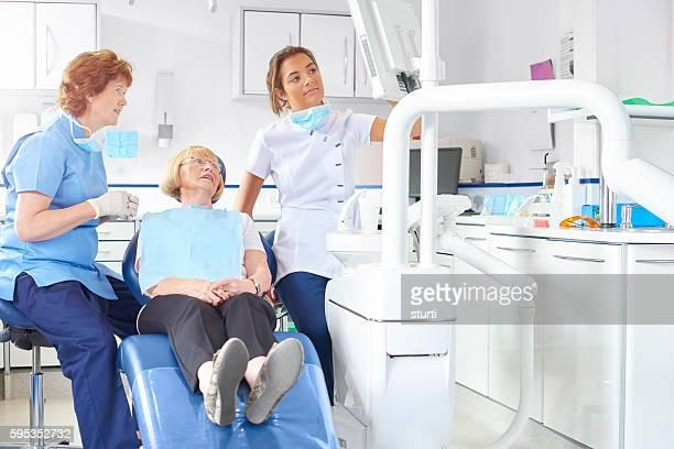 Dental team explain x-ray
