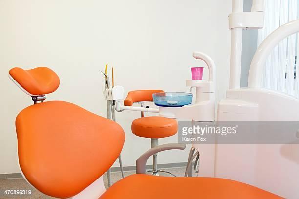 Dentist chair in clinic