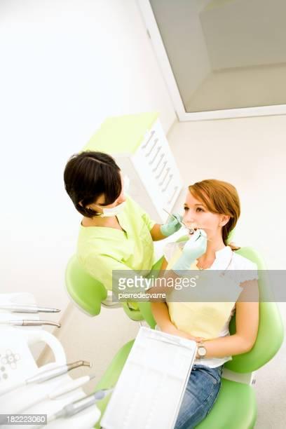 Cabinet dentaire Patient médecin médical femme