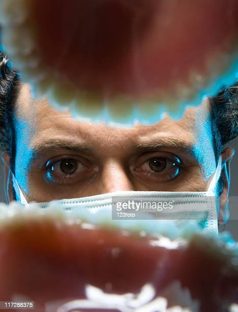 zahnarzt - dentist phobia stock-fotos und bilder