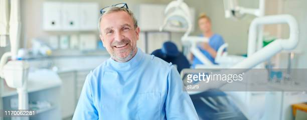 dentist portrait - dentist's office stock pictures, royalty-free photos & images