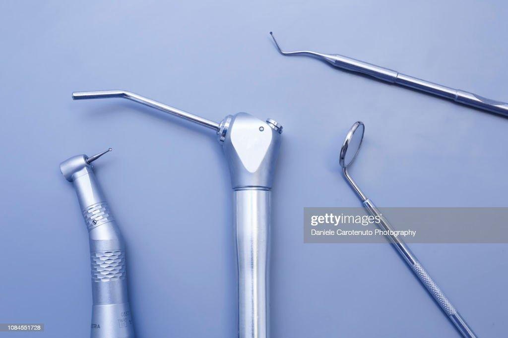 Dentist's tools : Stock Photo