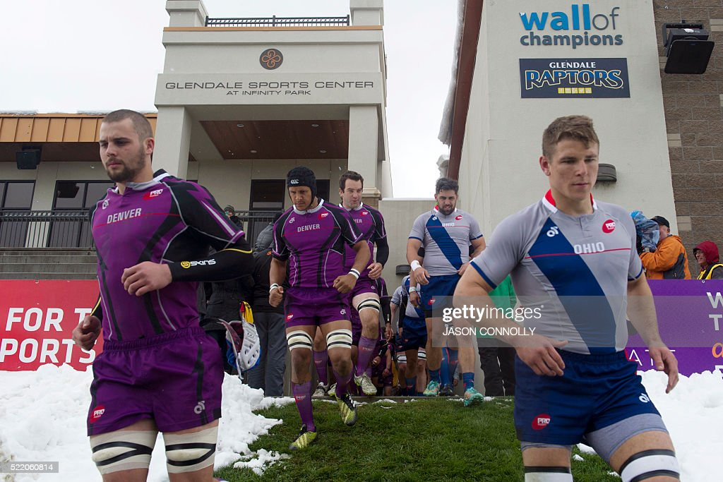 RUGBY-US-PRO : News Photo